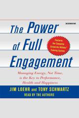 The Power Of Full Engagement Audiobook